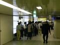 [副都心線]新宿3丁目 記念乗車券の行列