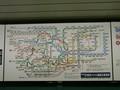 [副都心線](都)新宿3丁目 路線図
