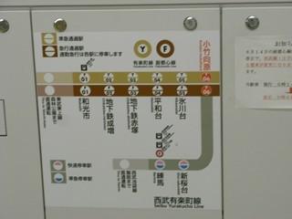 小竹向原3番ホーム ホームゲート路線図