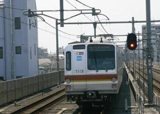 東京メトロ7000系 中村橋