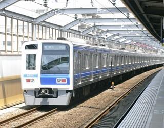 西武6000系[快速|渋谷]行き 後追い 中村橋