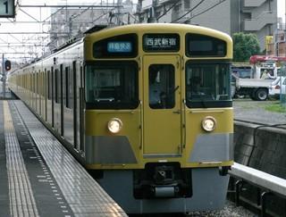 西武2000N系[拝島快速 西武新宿]行き 小川