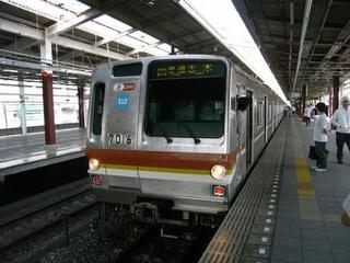 東京メトロ7000系 和光市