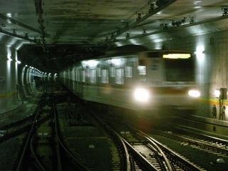 東京メトロ7000系 渋谷3番進入
