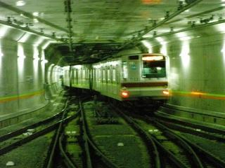 東京メトロ7000系 渋谷3番発車