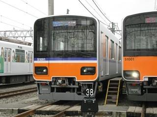 東武50090系 森林公園検車区