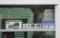 車内窓枠に展示してあったサボ類