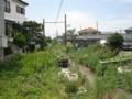 [安比奈線]この先家庭菜園?の廃線跡部分