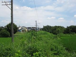 緑の中を行く線路2