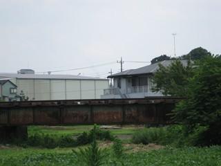 2番目の橋梁。安比奈線では一番長居っぽい?
