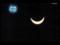 皆既日食キャプ(NHK)1