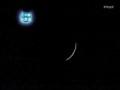 皆既日食キャプ(NHK)2
