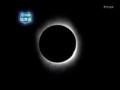 皆既日食キャプ(NHK)4