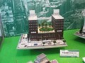 [鉄道模型ショウ09]ビルと空中庭園(GM)