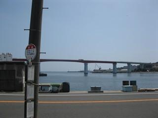 城ヶ島大橋をいれて1