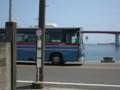 [Buono!ロケ地探訪]1:18のPV風にバスを入れて撮影。(PVは元臨港バスの白ナンバーバス使用)