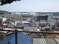[Buono!ロケ地探訪]2:13頃の頂上あたりから城ヶ島大橋を見るアングル2