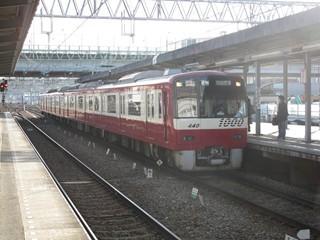 京急1000N形後部4両増結車2(金沢文庫)