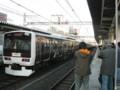 E231-500系チョコ電(御徒町)