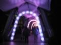 [イルミネーション]東京ドームシティ ミルキーウェイ赤パターン(メトロ丸ノ内線後楽園