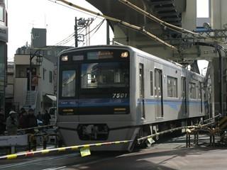 北総7500形[急行]印旛日本医大行き(京急蒲田~糀谷)