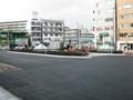 久米川駅北口ロータリー工事1