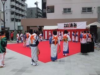 栄町自治会連合 盆踊り1