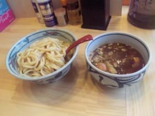 久米川北口 まいど 濃厚つけ麺 並