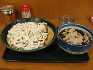 彩花庵(三鷹) 武蔵野うどん 肉ねぎうどん