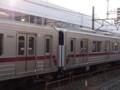東武30000系31601F+31401F31601側から連結面(川越市)