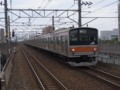 205系武蔵野線色M23編成(新浦安)