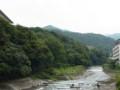 あじさい橋から早川の眺め