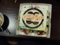 ももクロ氣士團対バンオフ生誕ケーキ