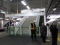 所沢新駅舎階段・エスカレーター(供用開始前)