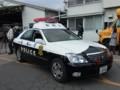犯人護送用のパトカー