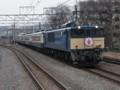 EF60 19+12系ばんえつ物語客車(いず物語回送)
