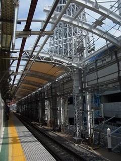業平橋 上りホーム