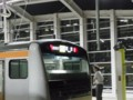 東小金井2番停車中の東京行き(始発)
