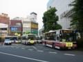 [中央線代行バス]国分寺駅前代行バス乗り場全景