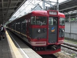 しなの鉄道115系 軽井沢留置