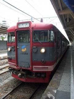 しなの鉄道115系(軽井沢行き)