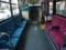 立川バス 三菱MP J914(木バス)車内内装