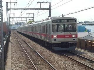 東急1000系1004F