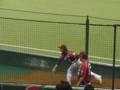 ブルペン 投球練習 小山