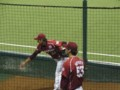 ブルペン 投球練習 ハウザー