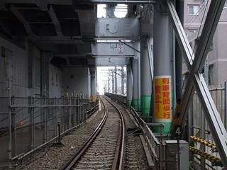 京急蒲田旧下り線雑色方