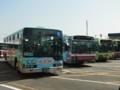江ノ電バス・小田急バス・立川バス並び
