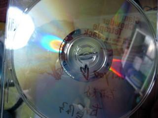「クラムチャウダー・テトラプル・アタック」CDの裏。