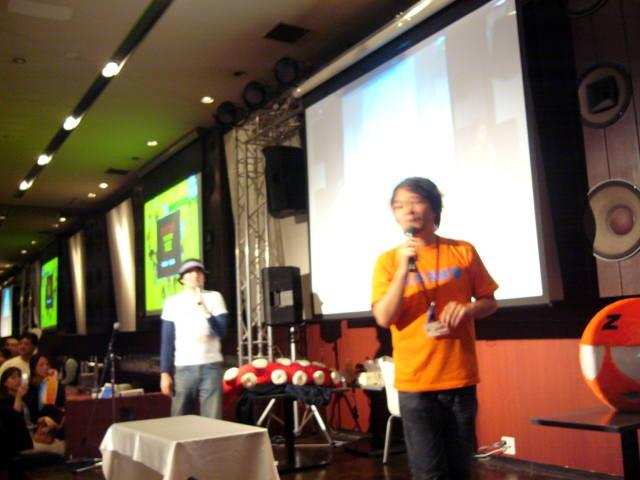 最後はメインステージではやし・住漁師によるトークから。