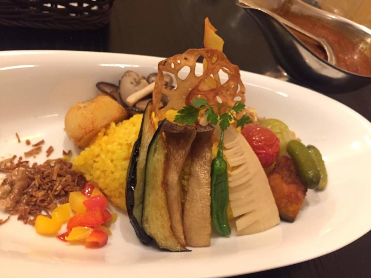 彩り野菜カレー